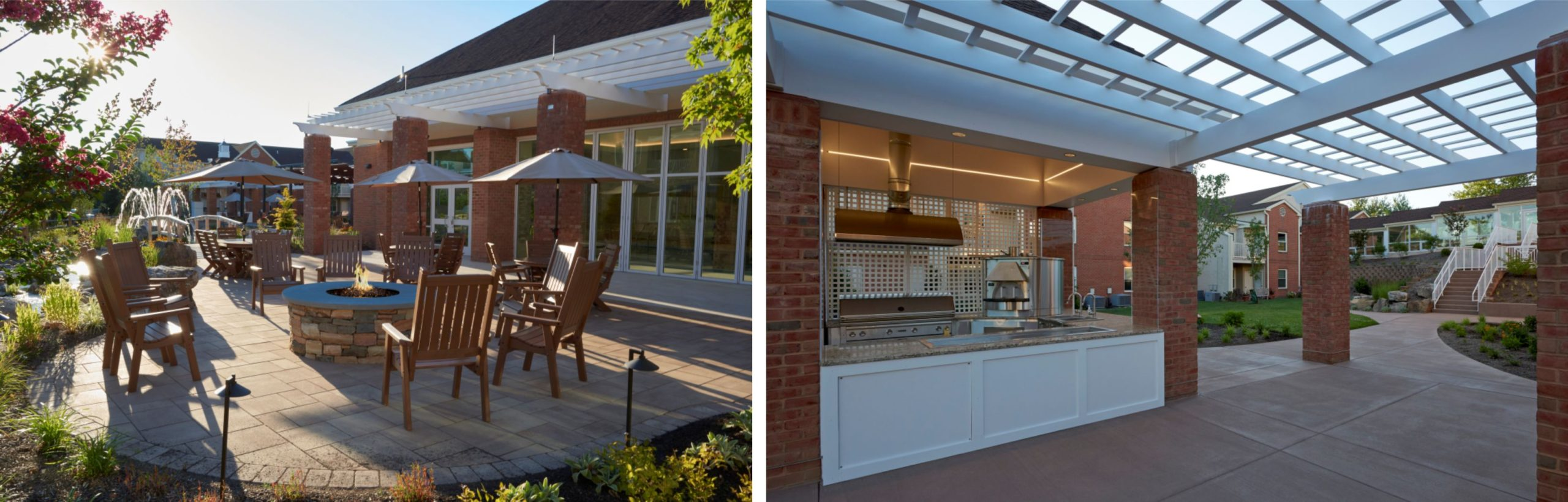 multi-functional venues are one of the design trends for outdoor spaces
