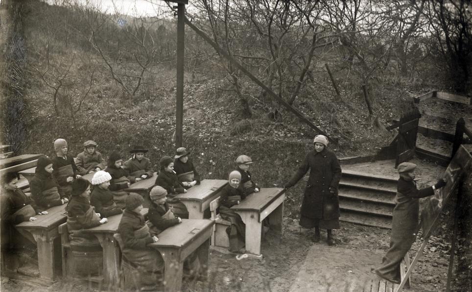 Open Air School, Netherlands, 1918