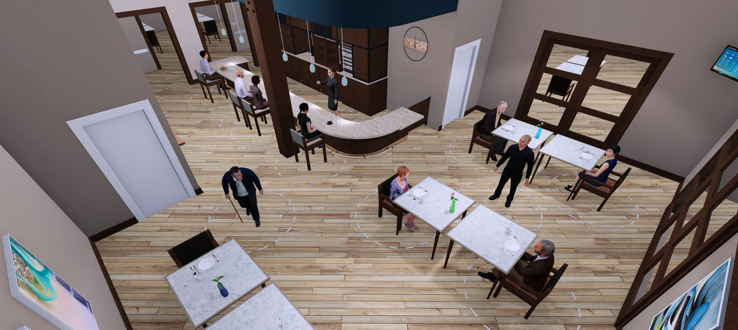 AIA Reopening America Strategies for senior living dining
