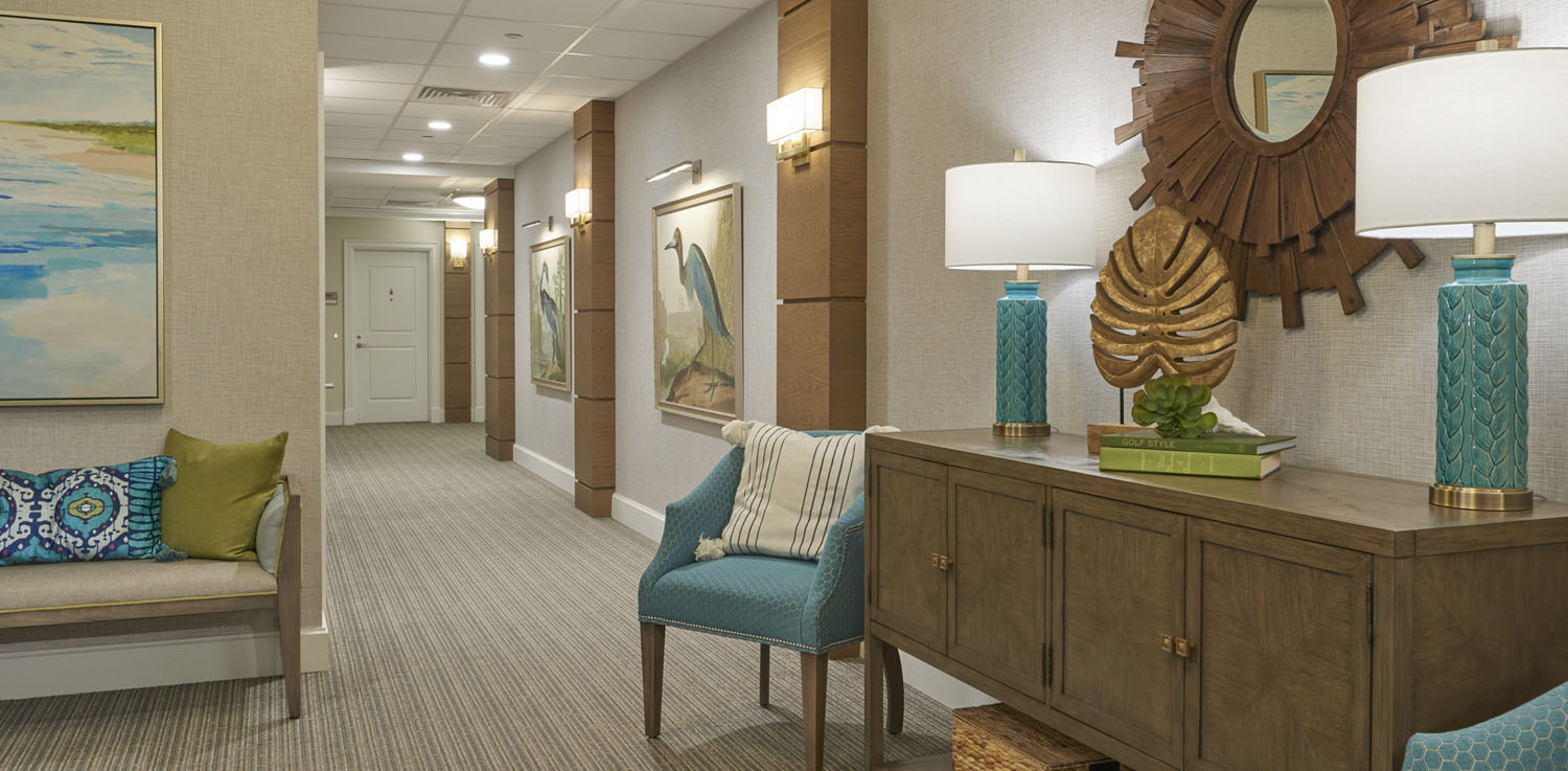 senior living design strategies used for social distance cueing