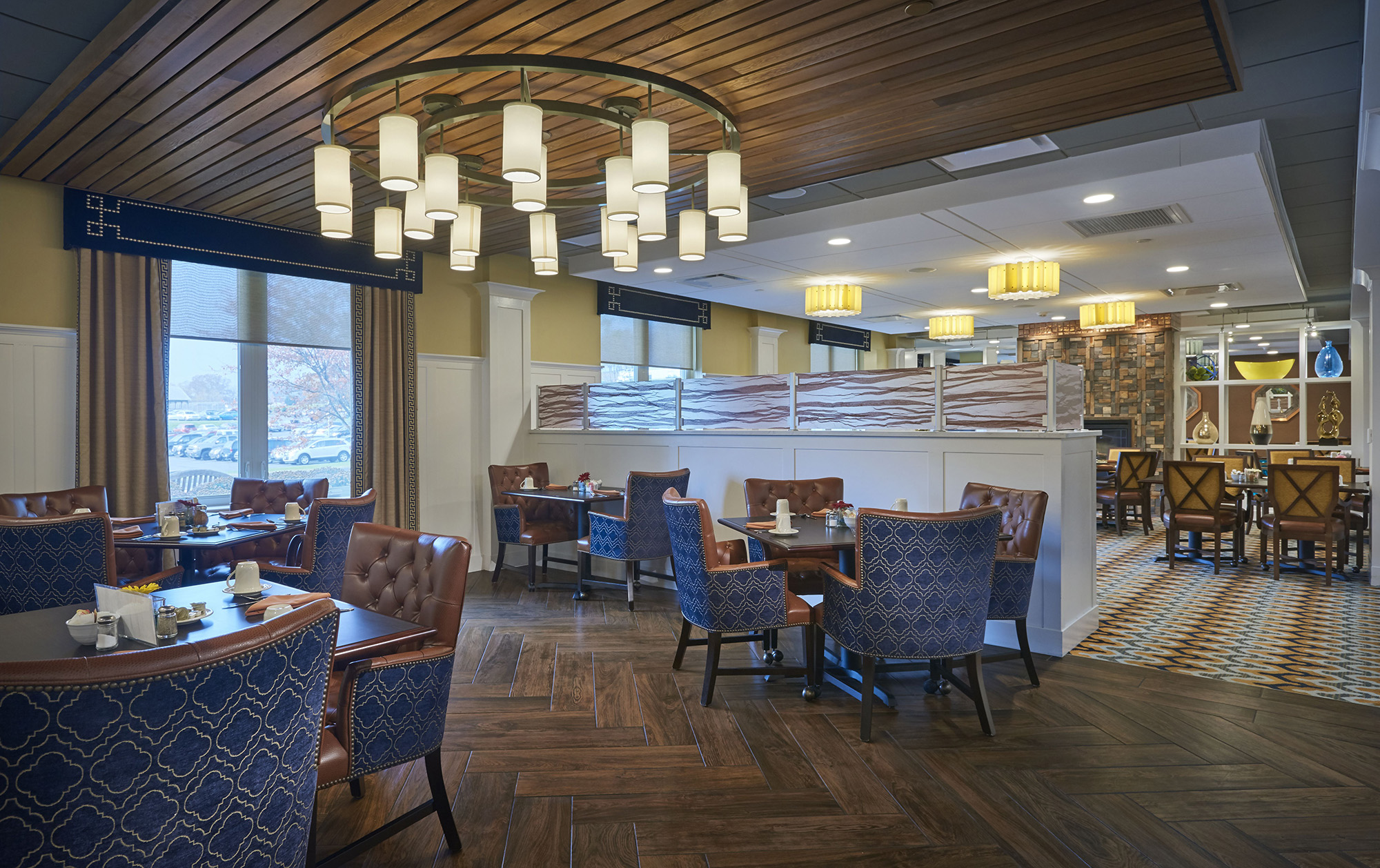 In Particular, Food Service And Dining Design Has Shifted Towards  Hospitality, Providing A Sense Of Activity And Destination For Residents.