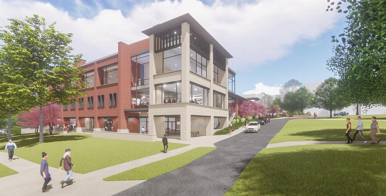 design rendering for Muhlenberg College